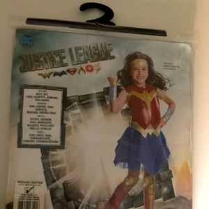 Girls Deluxe Dawn of Justice Wonder Woman Costme